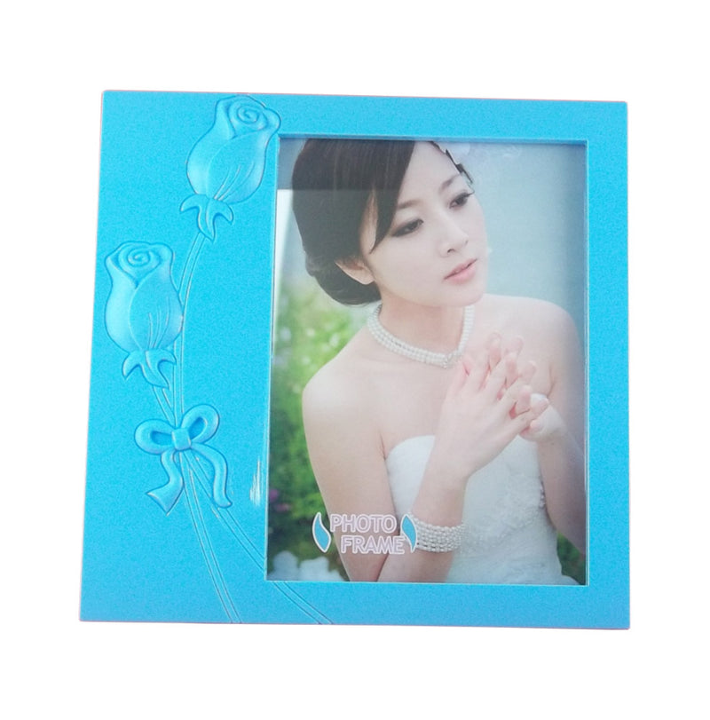 Lovely Blue Solid Acrylic Photo Frame
