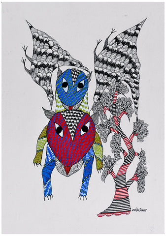Untitled Gond Panting