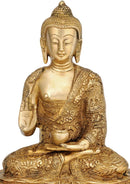Shakyamuni Buddha with Carved Robe 10.50""