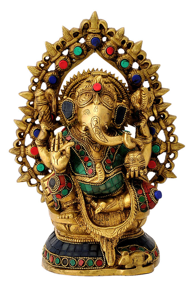 Four Armed Lord Ganpati