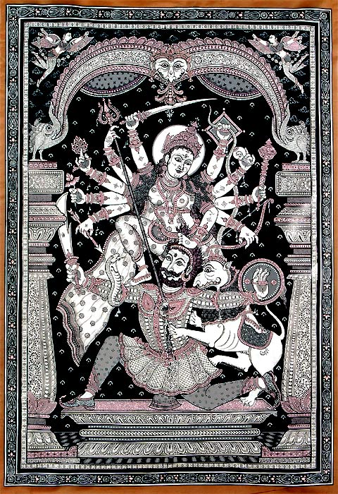 Devi Durga - Mother Goddess as Warrior 29""