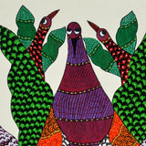 Jungle Creatures - Gond Painting