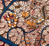 Evergreen Tree - Tree in Kalamkari Art