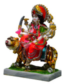 Decorated Mata Durga Statue