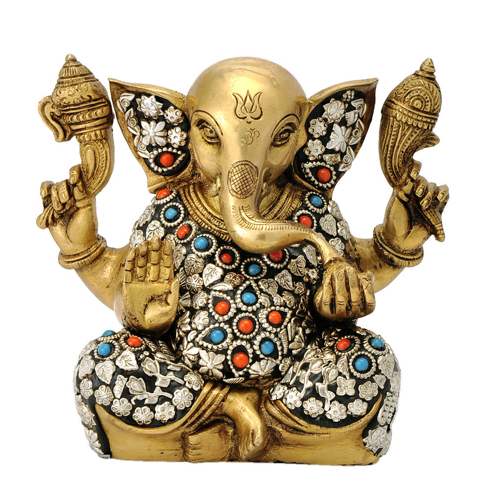 Ganesha Loves Modaks 6.50""