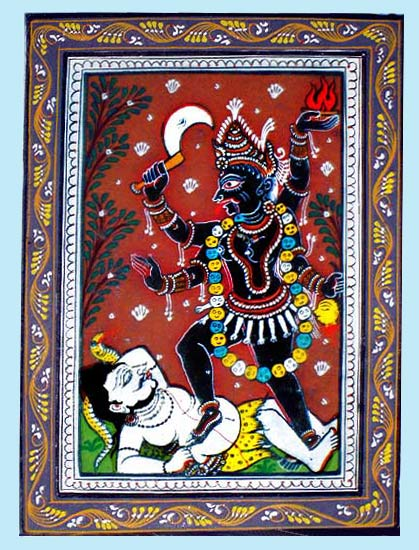 Devi Kali - The Ferocious Goddess 8""