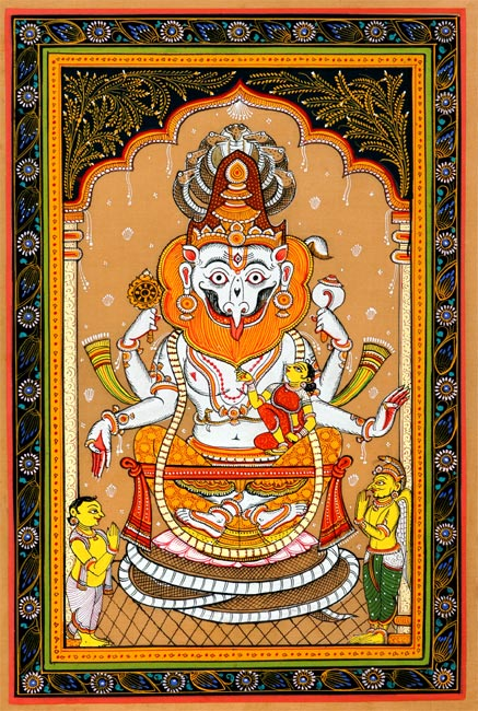 Lord Narasimha -The Fourth Incarnation of Lord Vishnu