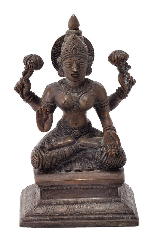 Antiquated Lakshmi Goddess Statue