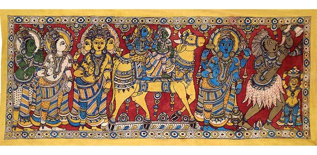 Marriage Procession of Shiva & Parvati