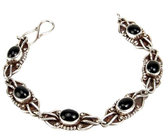 Midnight Fantasy - Black Onyx Bracelet