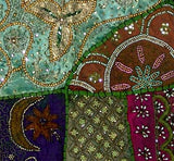 Beaded Wonder - Gujarati Patchwork Tapestry