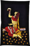 Batik Painting - Young Lady