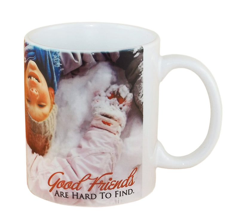 """Good Friends Are Hard to Find"" Ceremic Mug"