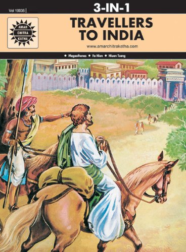Travellers Of India (10035) 3 in 1 [Paperback] Amar Chitra Katha Pvt
