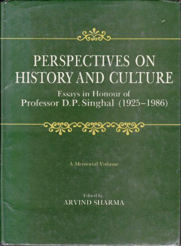 Perspectives on History and Culture [Hardcover] Sharma, Arvind