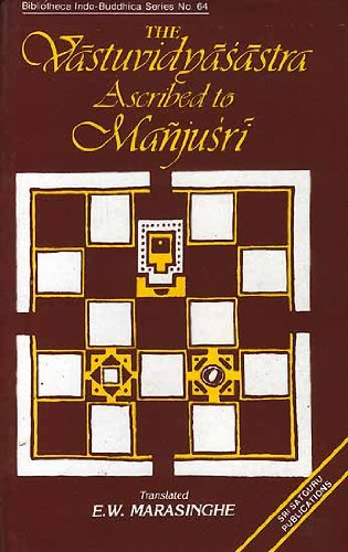Vastuvidvasastra Ascribed to Manjusri [Hardcover] Man?ju?s?ri?