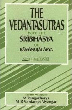 The Vedantasutras With the Sribhasya of Ramanujacarya [Hardcover] Rangacharya, M. and Aiyangar, Varadaraja