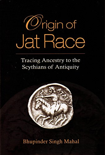 Origin of Jat Race [Hardcover] Bhupinder Singh Mahal