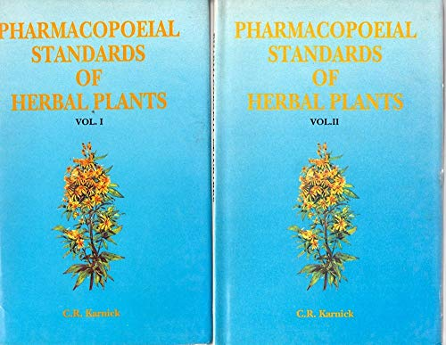 By C.R. Karnick Pharmacopoeial Standards of Herbal Plants (2 Volumes Set) (Indian Medical Science) (1st First Edition) [Hardcover] [Hardcover]