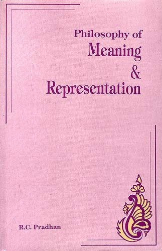 Philosophy of Meaning and Representation [Hardcover] R.C. Pradham