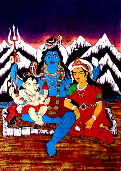 The Cosmic Couple on The Hills of Kailash
