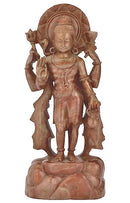 Standing Lord Shiva - Pink  Stone Statuette