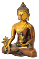 Antiquated Healing Medicine Buddha Statue