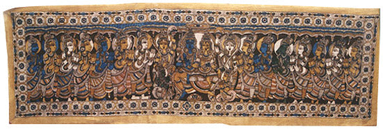 Ram and Sita with Companions