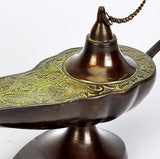 'Aladdin Chirag' Decorative Brass Lamp