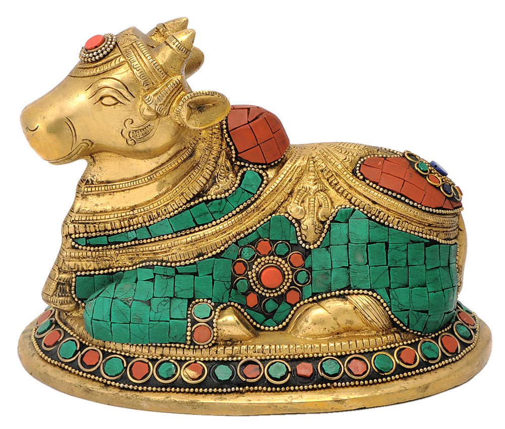 Decorative Nandi The Mount of Lord Shiva