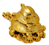 Three Tortise Feng Shui Figurine