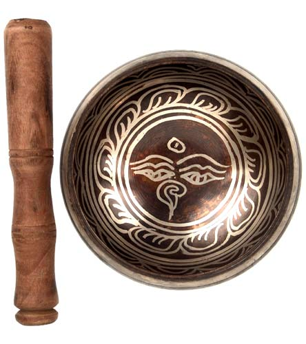 'Om Mani Padme Hum' Singing Bowl