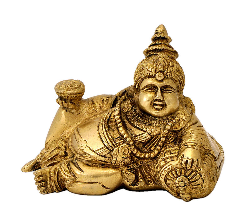 Resting Kuber with Bowl of Coins