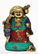 Laughing Buddha with Goodluck Coins