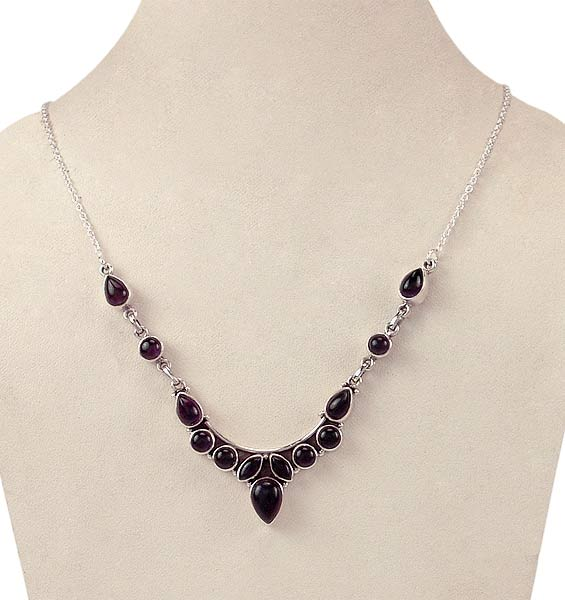 Amethyst Necklace 'Inner Peace'