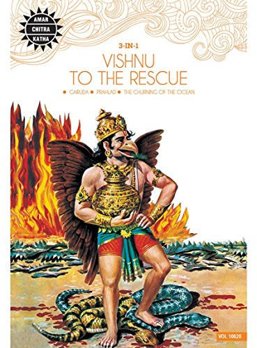 Vishnu to the Rescue (Amar Chitra Katha 3 in 1 Series) [Paperback] Anant Pai
