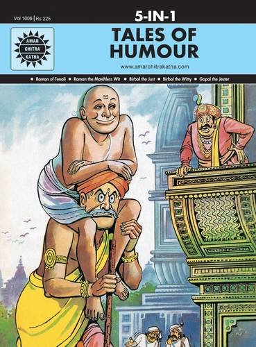 Tales of Humour 5 in 1: (Amar Chitra Katha 5 in 1 Series) [Hardcover] Anant Pai
