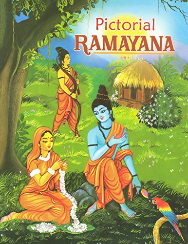 Pictorial Ramayana - For Children [Paperback] Swami Raghaveshananda and Padmavasan
