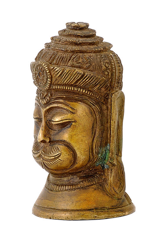 Antique Finish Lord Hanuman Head