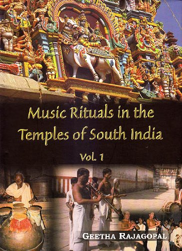 Music Rituals in the Temples of South India vol.1 [Hardcover] Rajagopal and Geetha