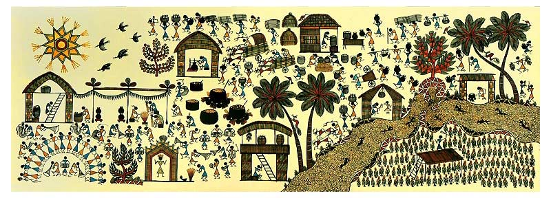 The Inhabitants Of Warli