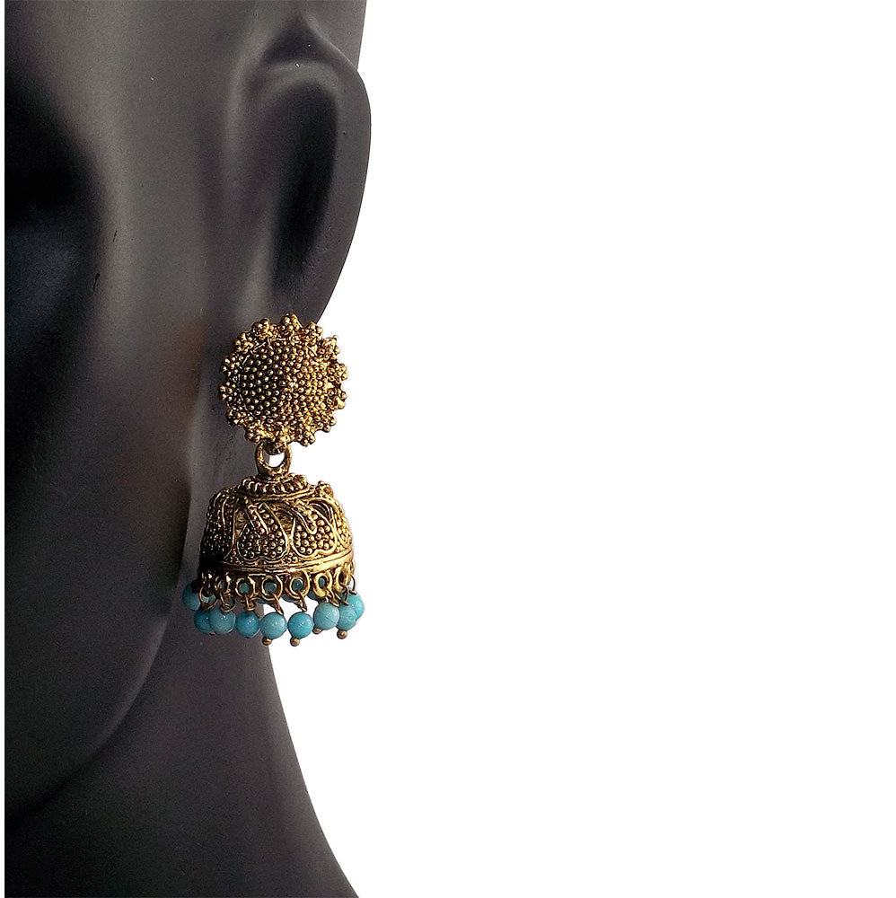 Beautiful Indian Style Jhumki Earrings