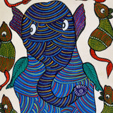 Lord Ganesh - Gond Bhil Painting