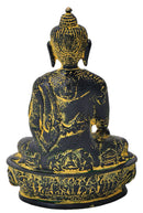 Antiquated Earth Touching Buddha Statue 8.25""
