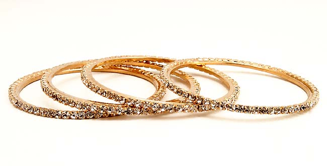 Indian Galaxy - set of 4 Bangles