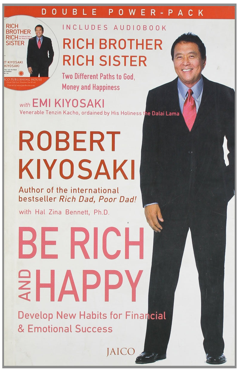 Be Rich & Happy (with CD) Audio CD