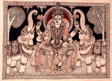 Gajalakshmi-Lakshmi with Elephants