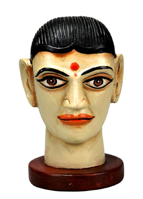 Bold & Beautiful - Indian Lady Wood Head