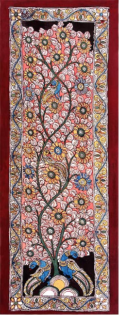 Fantasy Land - Kalamkari Painting Panel