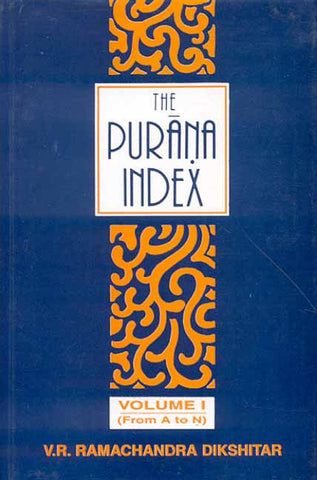 The Purana Index (3 Vols.)